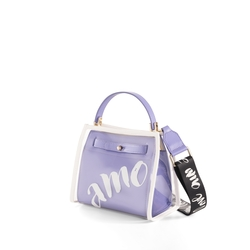 Amo Handbag with vinyl cover