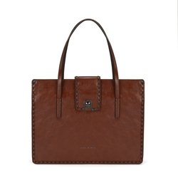 Muschio Tote bag, leather