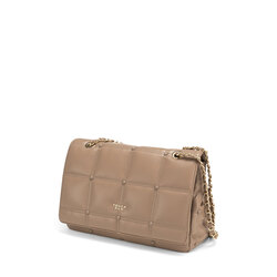 Bella Addormentata Small quilted soft crossbody bag, taupe