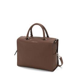 Schiaccianoci Large boston bag, brown