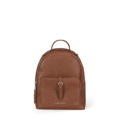 Re Leone Backpack without fringes, leather