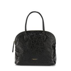 Grimilde Leather tote bag, black