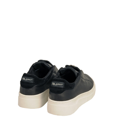 Sir Biss Leather slip-on sneaker with jewel details, black, 41 EU