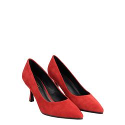 Aristogatti High heel court shoes in suede, red, 40 EU