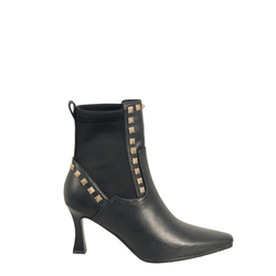 Alice Leather high-heeled ankle boot, black, 40 EU