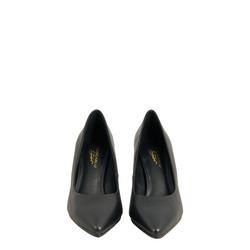 Aristogatti High heel court shoes in leather, black, 39 EU