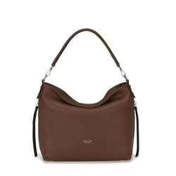 Frutti Di Bosco Leather slouchy bag, leather