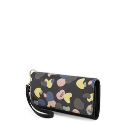 Back To School Mobile phone holder with print and sleeve, black