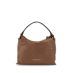 Trilly Spotted leather handbag, spotted
