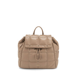 Bella Addormentata quilted soft backpack, taupe