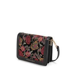 Tris Embroidered panel crossbody bag, multicolour