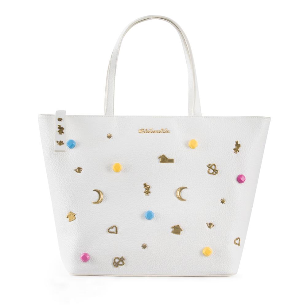 #BluToscaBlu-Army shopping bag