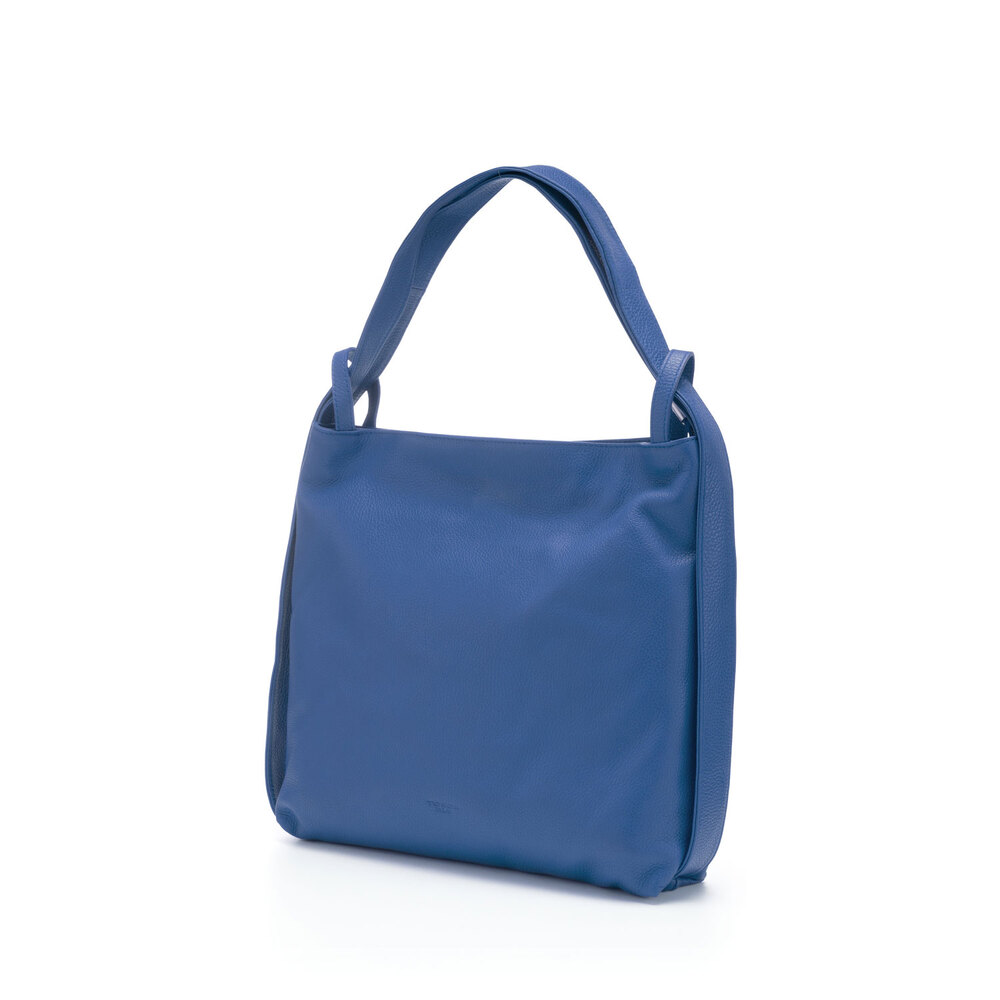 Tosca Blu-Tosca Blu Essential Leather slouchy bag/backpack