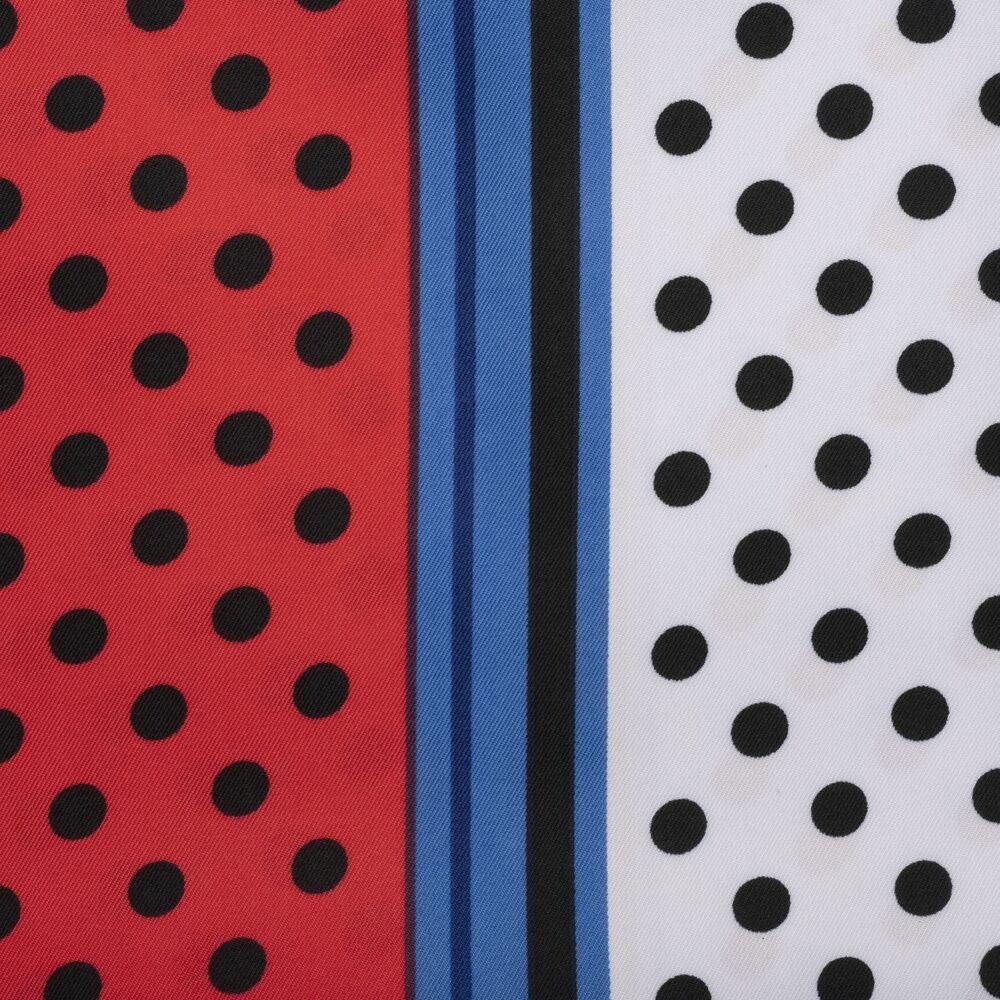 Tosca Blu-Magenta Foulard 90X180