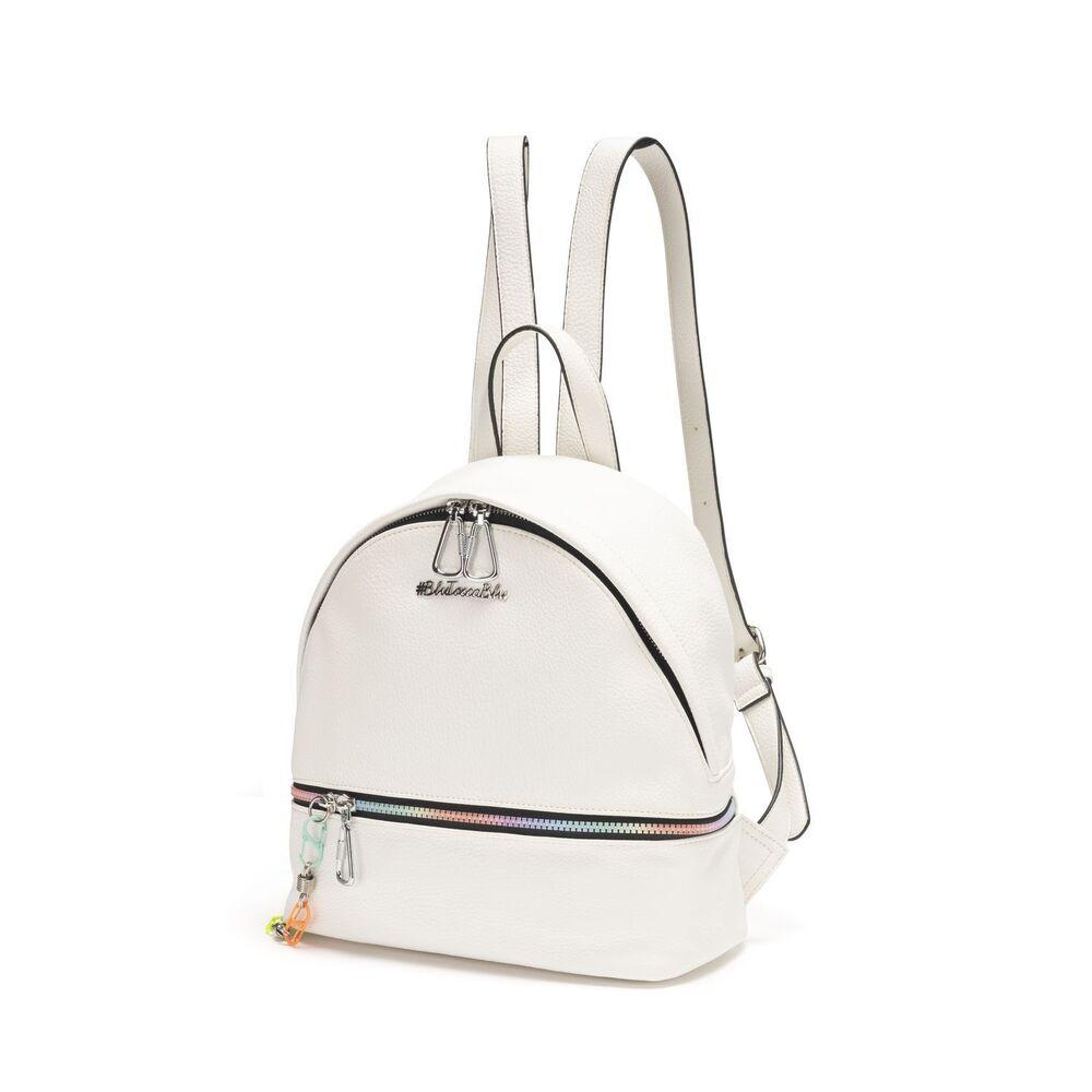 #BluToscaBlu-White Russian Backpack