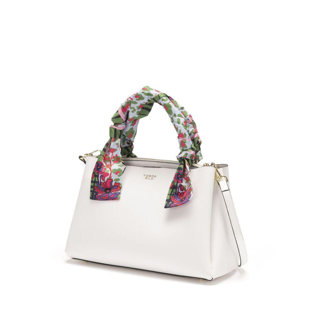 Tosca Blu-Alghero Handbag with foulard