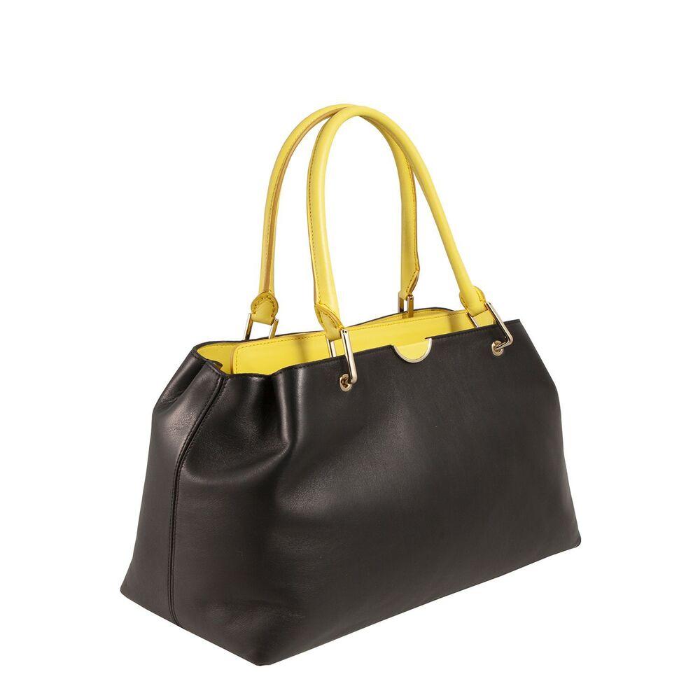 Tosca Blu-Tosca Blu Essential Leather tote bag