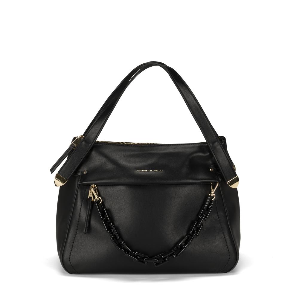 Tosca Blu-Pollicino Leather tote bag