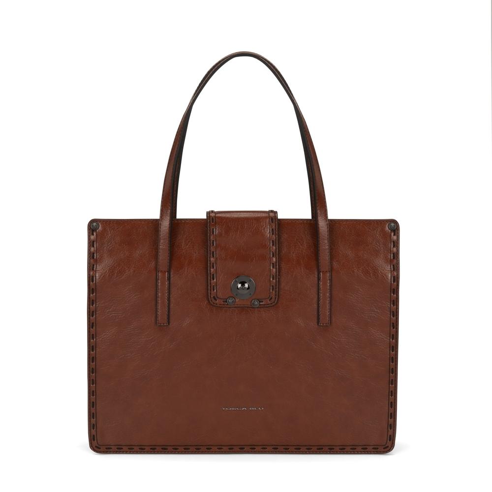 Tosca Blu-Muschio Tote bag
