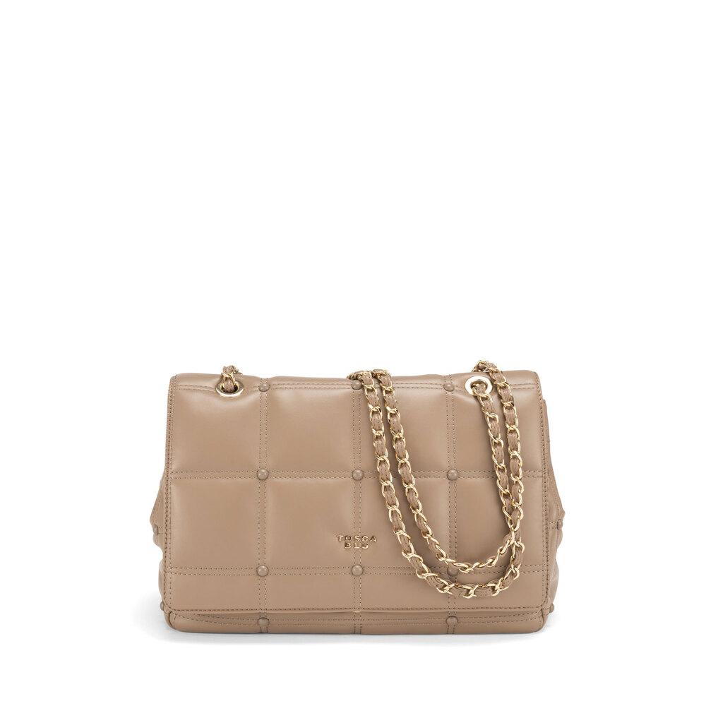 Tosca Blu-Bella Addormentata Small quilted soft crossbody bag