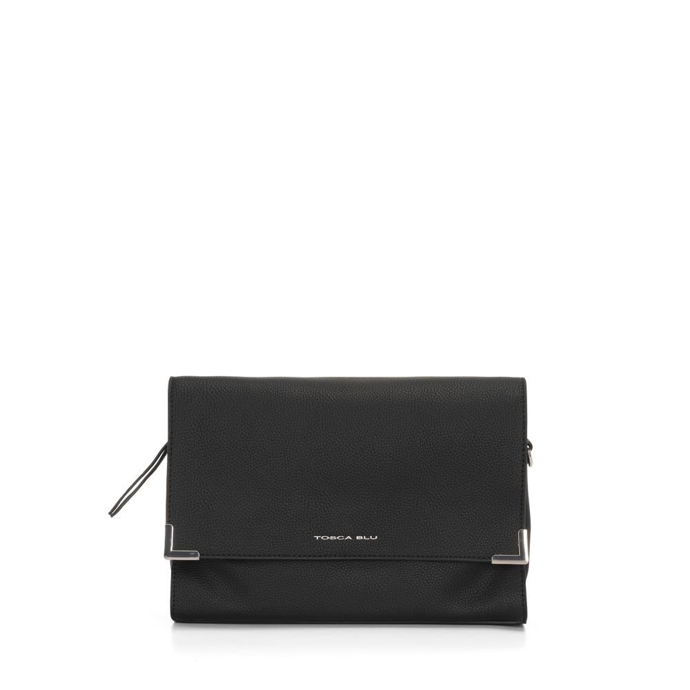 Tosca Blu-Schiaccianoci Flap crossbody bag