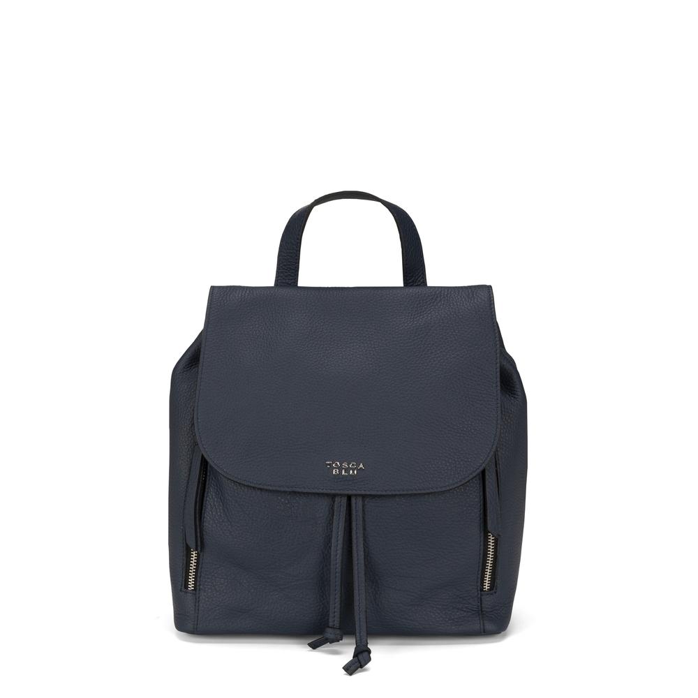Tosca Blu-Frutti Di Bosco Genuine leather backpack
