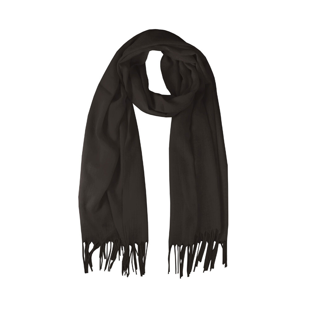 Tosca Blu-Gelsomino Scarf with fringes
