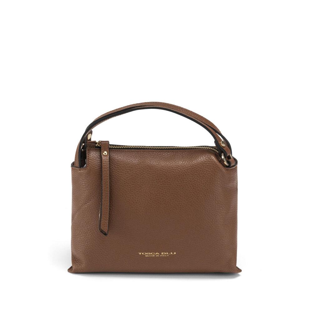 Tosca Blu-Trilly Tumbled leather handbag