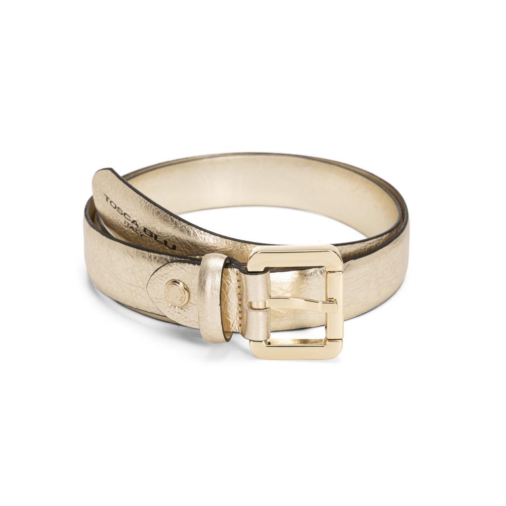 Tosca Blu-Tosca Blu Regular laminated leather belt