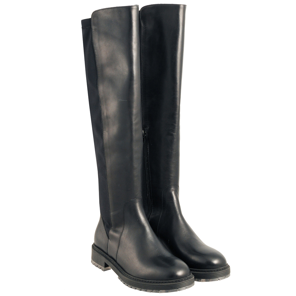 Tosca Blu Studio-Candy Naplak leather low-heeled boot