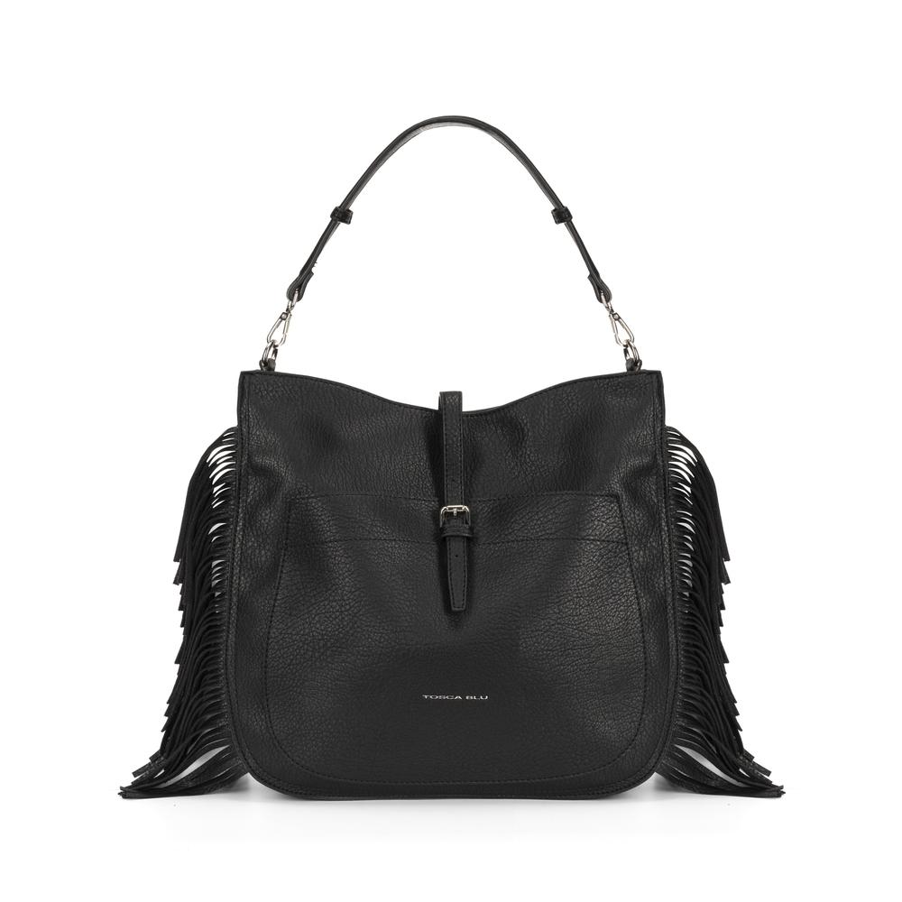 Tosca Blu-Re Leone Shoulder bag with fringes