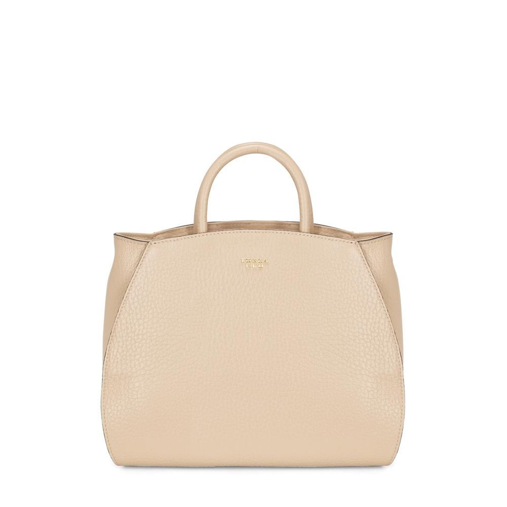 Tosca Blu-Hansel E Gretel Tumbled leather handbag