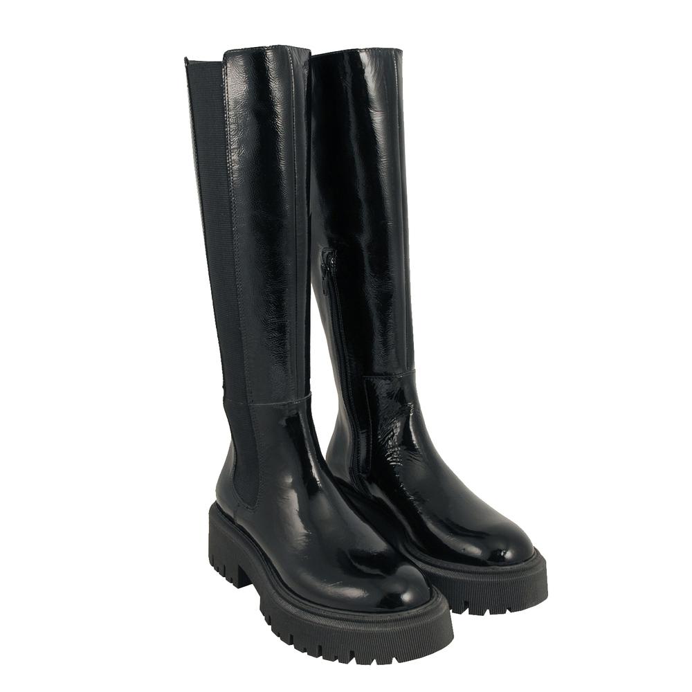 Tosca Blu Studio-Incantesimo Naplak leather beatles boot