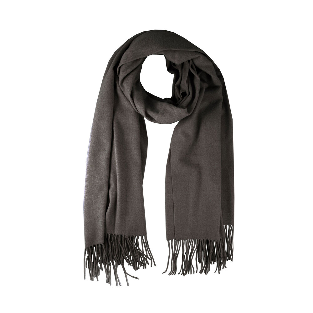 Tosca Blu-Tulipano Scarf with fringes
