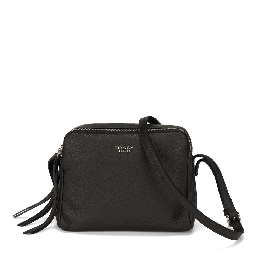 Tosca Blu-Frutti Di Bosco Small leather crossbody bag