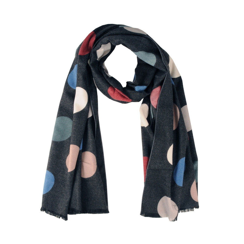 Tosca Blu-Bucaneve Polka dot scarf