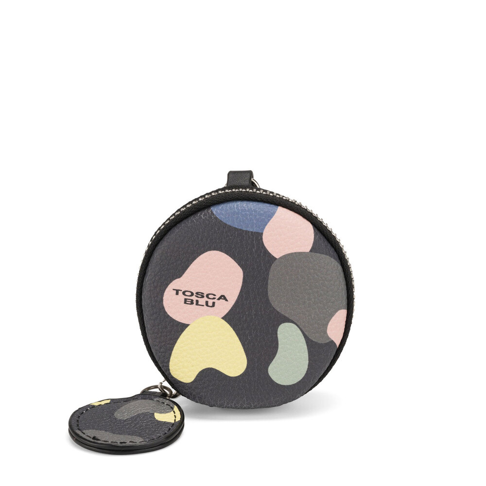 #BluToscaBlu-Back To School Coin purse with print