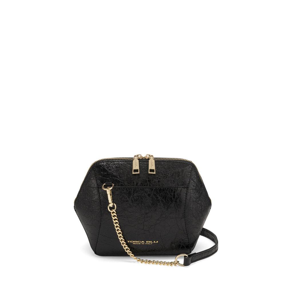 Tosca Blu-Grimilde Small leather crossbody bag