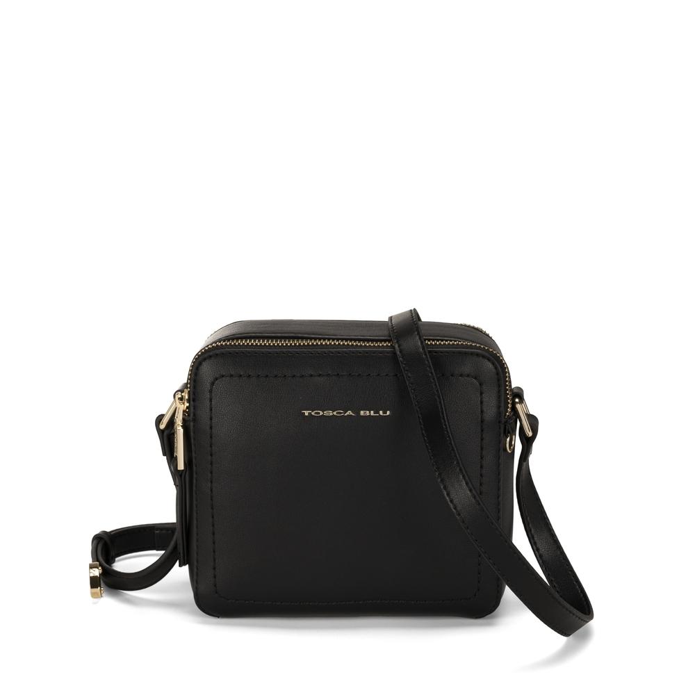Tosca Blu-Pollicino Small leather crossbody bag