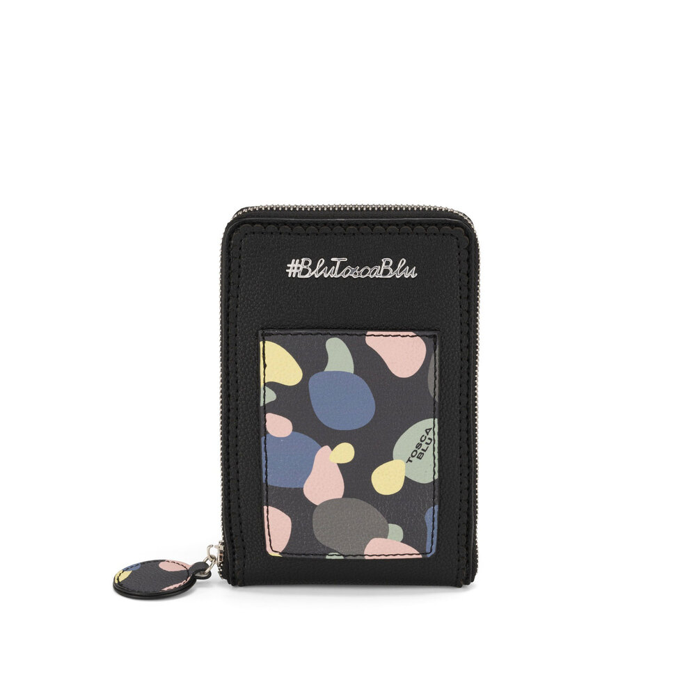 #BluToscaBlu-Back To School Mobile phone holder with print and shoulder strap