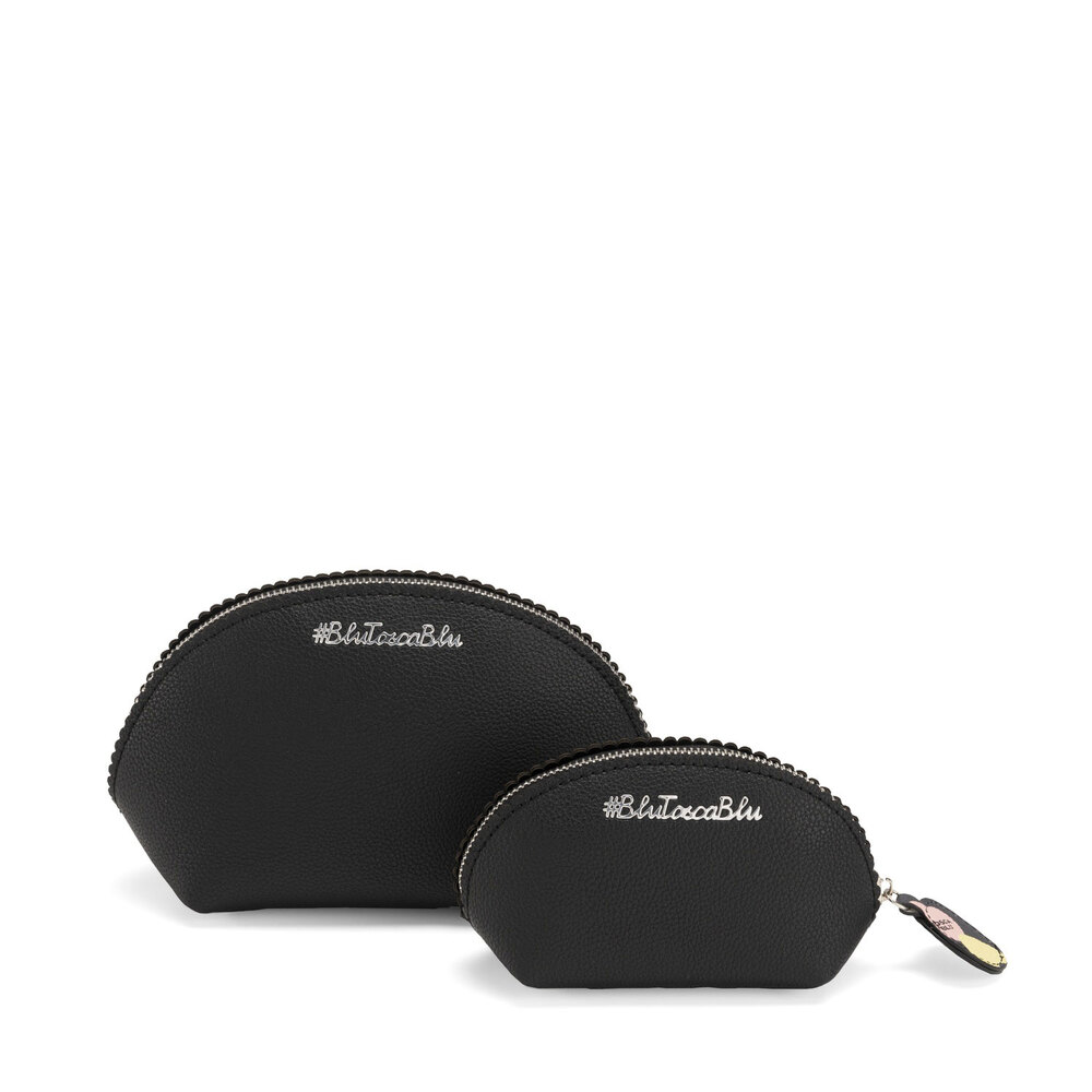 #BluToscaBlu-Back To School Make-up bag set with print