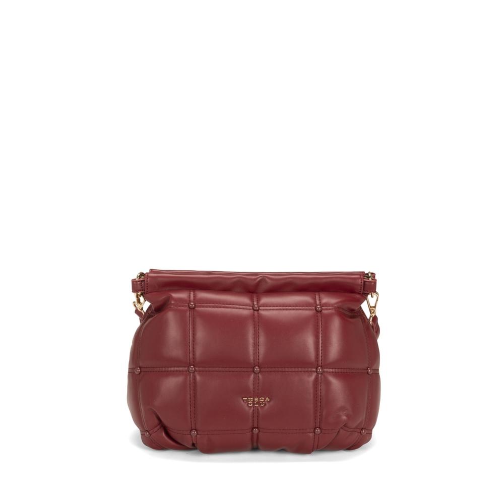 Tosca Blu-Bella Addormentata quilted soft clutch bag