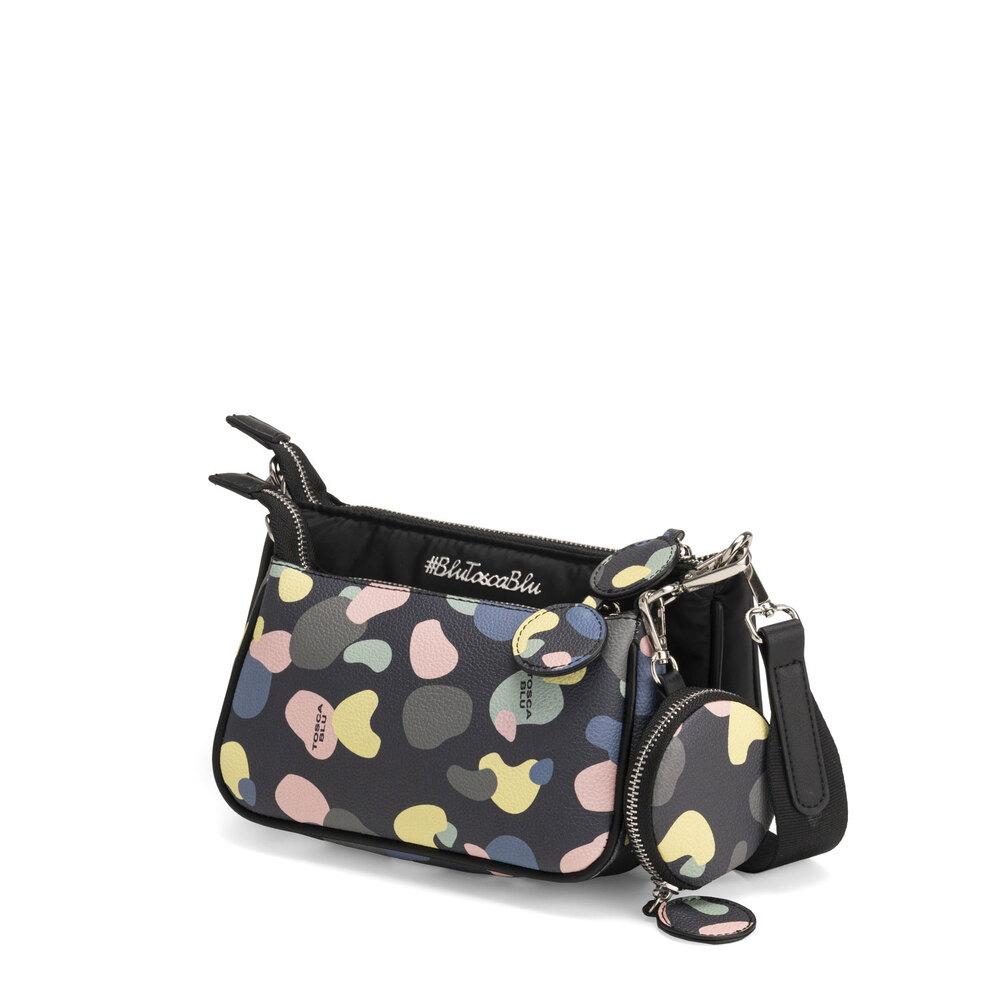 #BluToscaBlu-Back To School Crossbody bag with print
