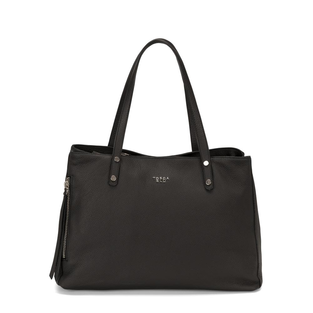 Tosca Blu-Frutti Di Bosco Leather tote bag