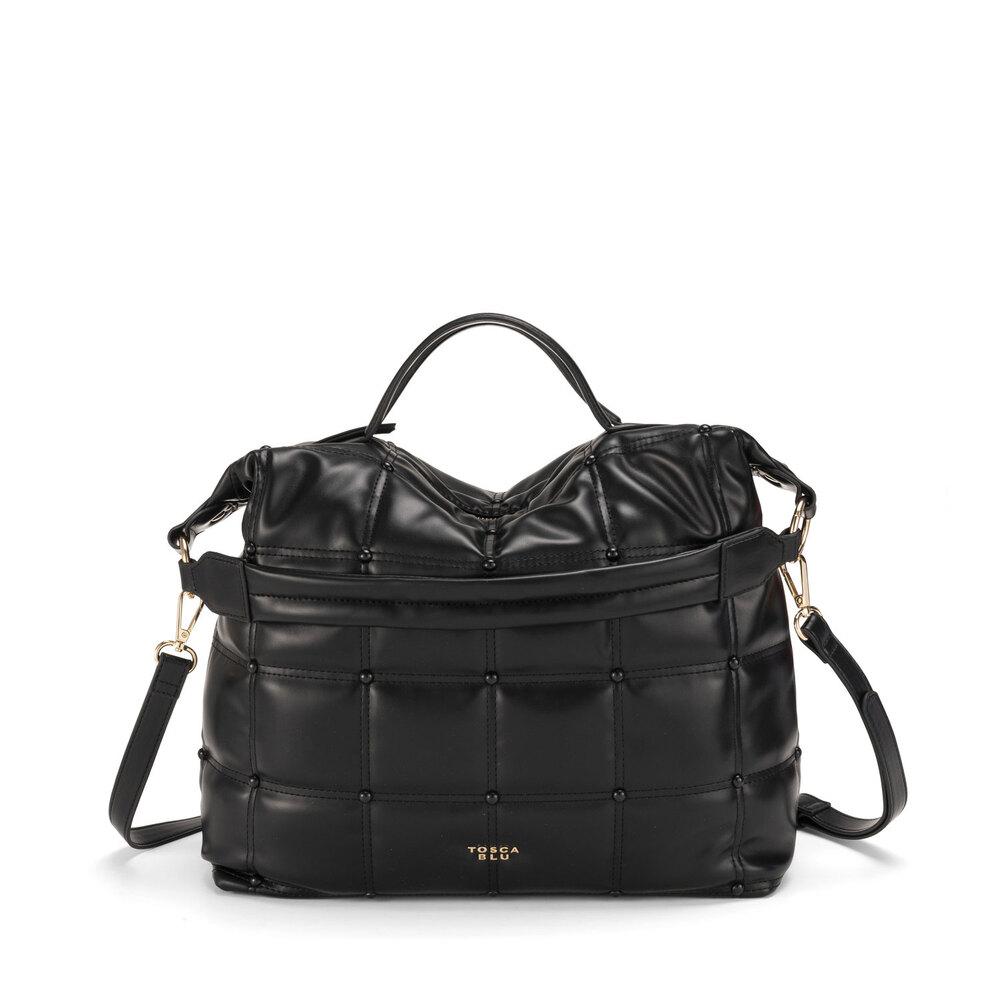 Tosca Blu-Bella Addormentata quilted soft handbag