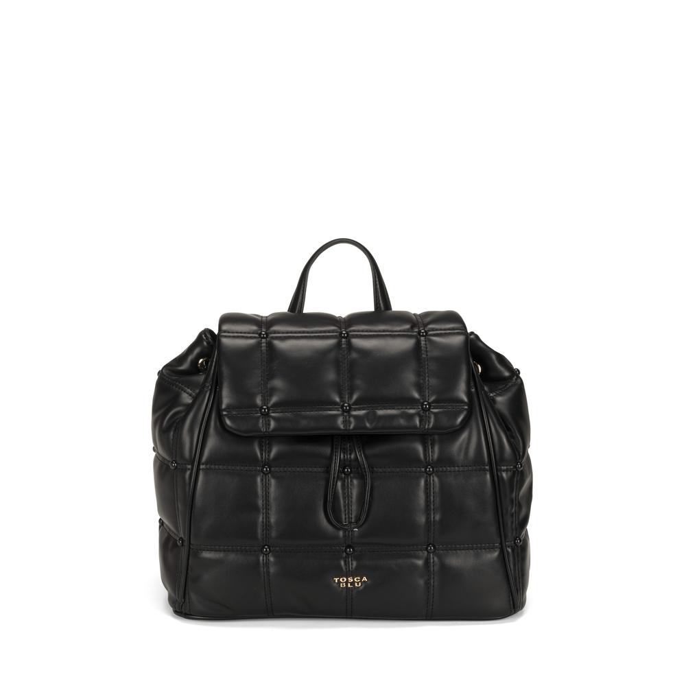 Tosca Blu-Bella Addormentata quilted soft backpack